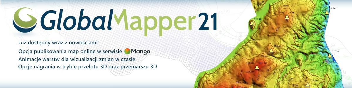 Nowa wersja Global Mapper 21